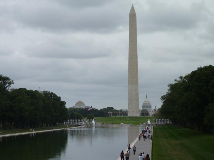 Washington Monument and Capitol