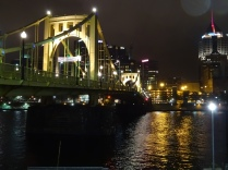 On the way home from the hockey game we crossed the Allegheny River of this bridge.