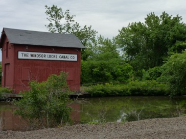 Historic Canal office at the south end in Windsor Locks