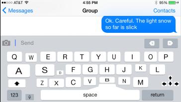 iOS Keyboard Alternative