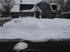 House snow
