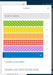 Trello Colorblind Labels