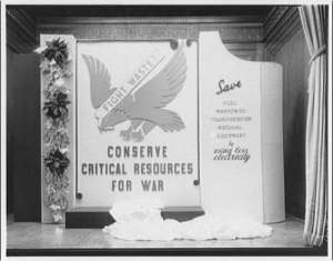 conserve for war 1943 poster