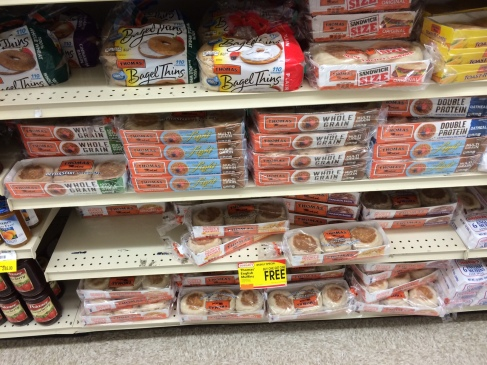 Extra protein English Muffins? What has this world come to?