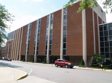 Attached to Clark Hall is the Chemical Research Library, offices and graduate and undergraduate research labs.