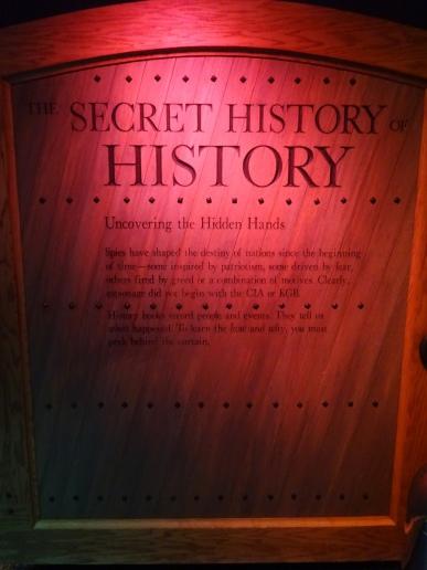 Spy Museum Door