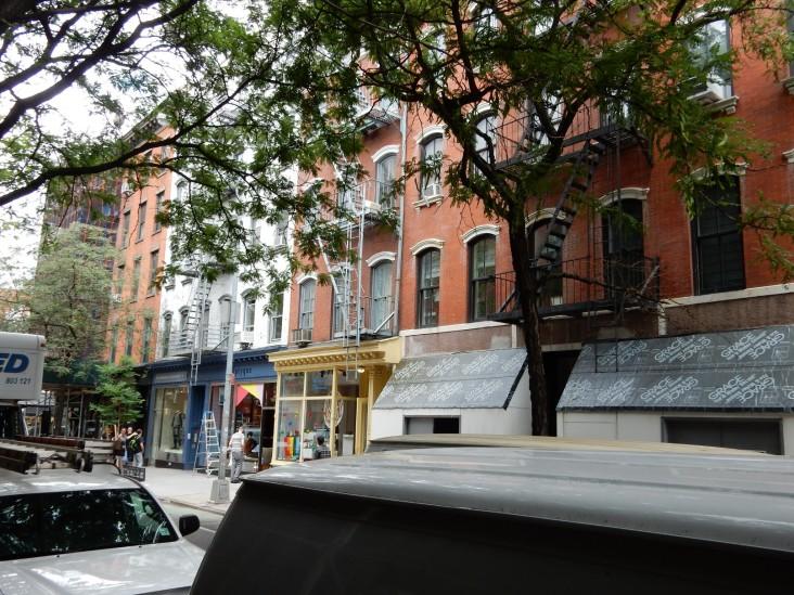 Bleeker Street Doors