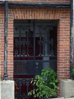 Protective iron gate