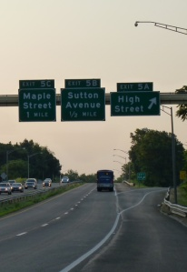 Maple St Exit