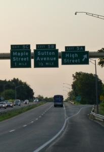 Maple St Exit