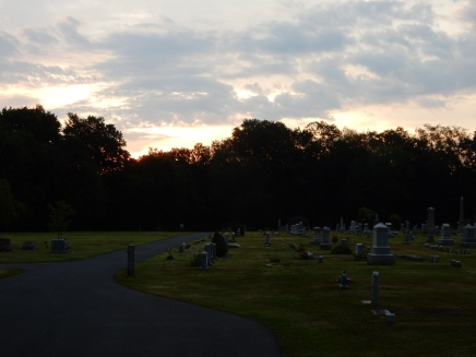 Cemetery at Sunrise