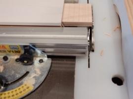 Cutting Tenons