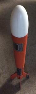 Estes model rocket