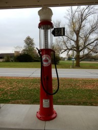 Visible Gas Pump
