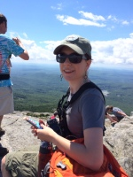 At the summit of Mt Monadnock