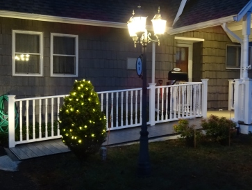 Our Christmas lights,