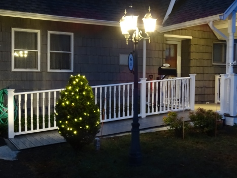 Our Christmas lights,