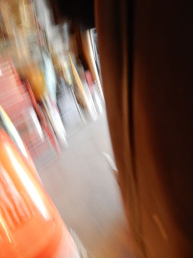 As I tried to stop my camera, I pushed the shutter.