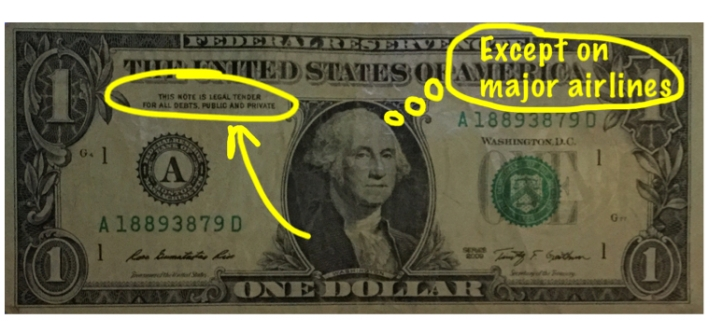 This note is legal tender...