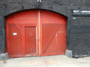I've been trying to figure out the story behind these doors ever since I first saw them.