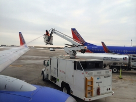 deicing our plane