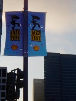 Jazz Fest sign
