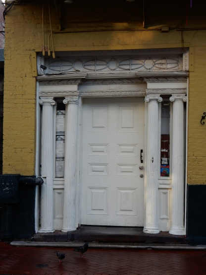 White Entrance