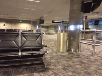 Empty terminal