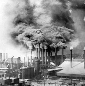 Pittsburgh steel mill