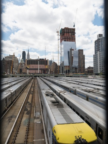 NYC west side railyard