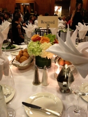 "I'm not usually at a ""reserved"" table."