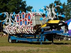 Folded up for transport