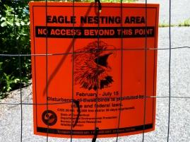 Eagle Nesting Area