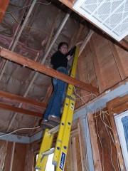 Faith on Ladder