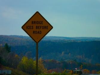 bridge freezes