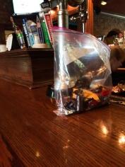 A good bartender has candy