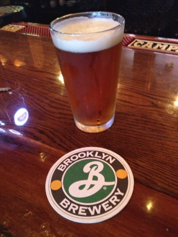 Before there was Yuengling, there was Brooklyn Lager atthe bar