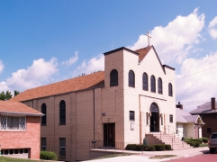 St George Orthodox Church. My grandfather helped build this church, My grandmother attended as long as she lived.