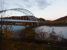 Pittsburgh Naval & Shipbuilders Memorial Bridge - opened 1976
