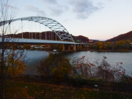 Pittsburgh Naval & Shipbuilders Memorial Bridge - opened 1976