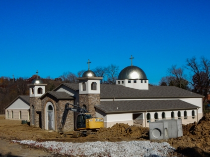 This is the soon-to-be St George Orthodox Church