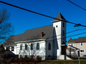 Primitive Methodist Church, Carnegie, PA. I spent 18 years here. My mother was a member for 75 years!