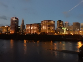 Hartford from Bulkeley bridge
