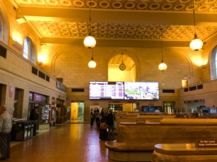 Inside New Haven's Union Station