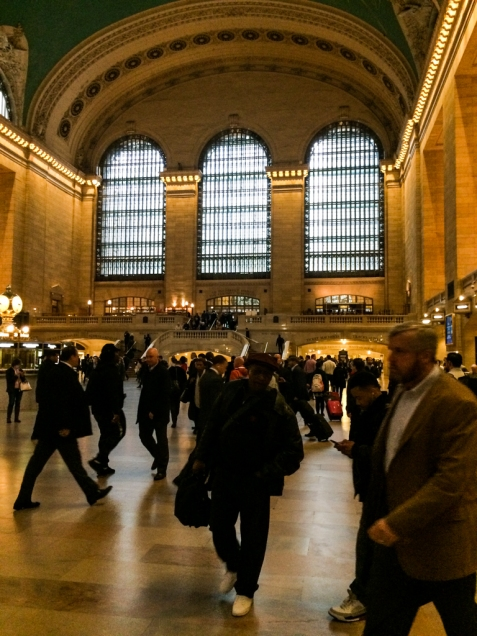 There's no doubt that you're in the main lobby of Grand Central Terminal
