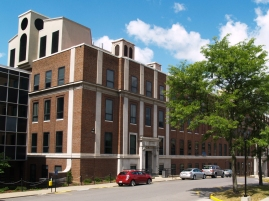That's the original section of Clark Hall, where I had all of my chemistry classes.