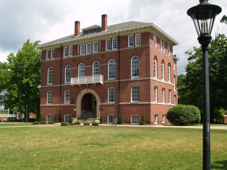 Chitwood Hall (with a little bit of door showing)