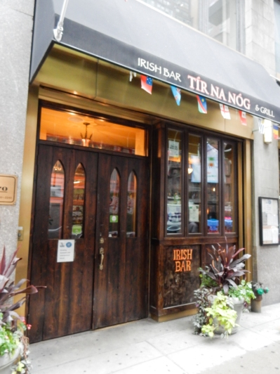 Hard to pass up an Irish Pub