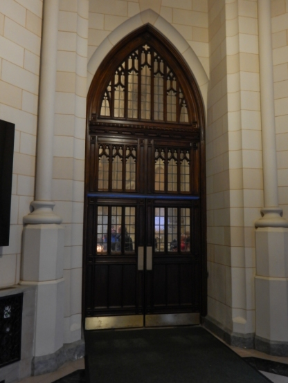 The levels of this entrance door hold so much detail.