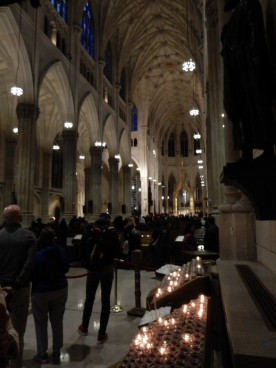 St. Patrick's is a beautiful church. The renovations inside were completed last year